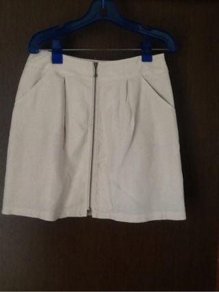 ペイトンプレイス麻混スカート