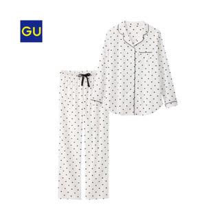 GUハート柄パジャマ