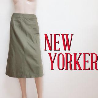 大人のニューヨーカー キレカジ ジップスカート