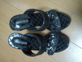 キラキラヒール★黒