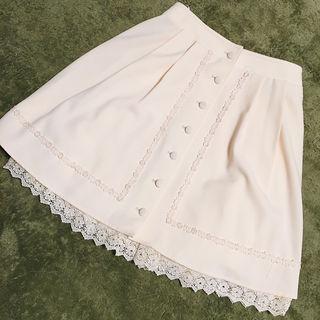 レストローズ*クラシカルホワイトスカート