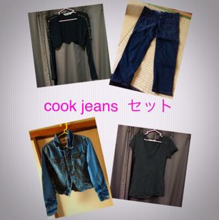 cook jeans  セット