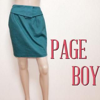 必需品ページボーイ キレカジ デザインスカート