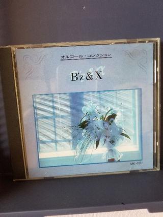 オルゴール・コレクションCD・B'z・X