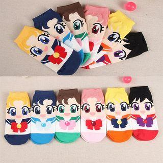 【新品】セーラームーンデザイン 靴下 全6種類