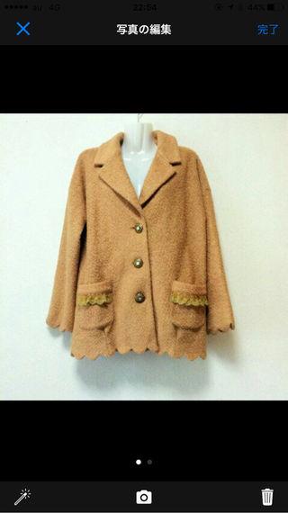 LIZ LISAキャメル色コート