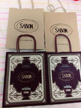 SABON紙袋