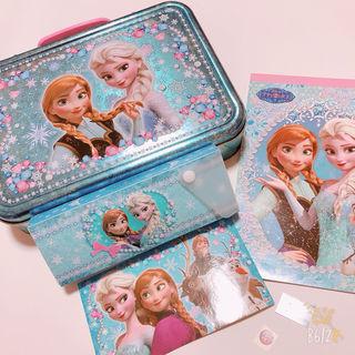 アナと雪の女王 セット ノート 筆箱 シール