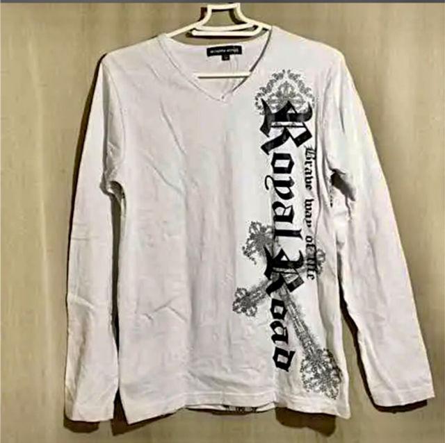 新品メンズTシャツ ロングスリーブ Mサイズ