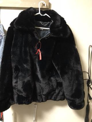 supremeファージャケット