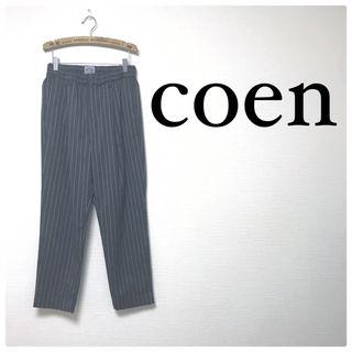37美品coen ストライプ カジュアル オフィス