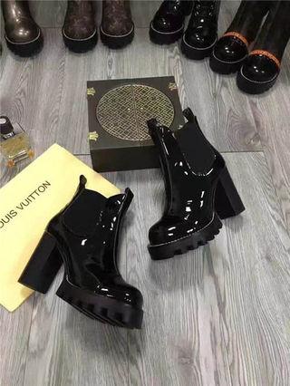 ルイヴィトン本革靴 ブーツ2017美品