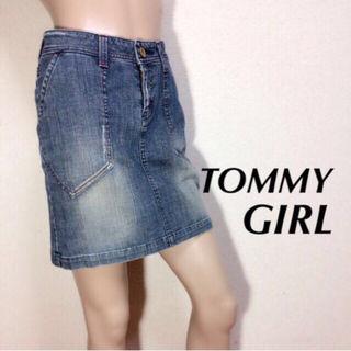 間違い無しトミーガール 鉄板デニムスカート