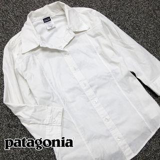 美品!! パタゴニア 7分袖シャツ V48