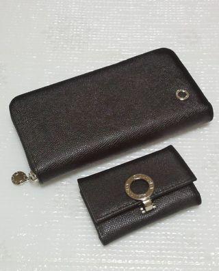 ビーゼロジッピー長財布とキーケースのセットブラック