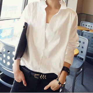 レディースシャツ 長袖 Sサイズ~XXLサイズ