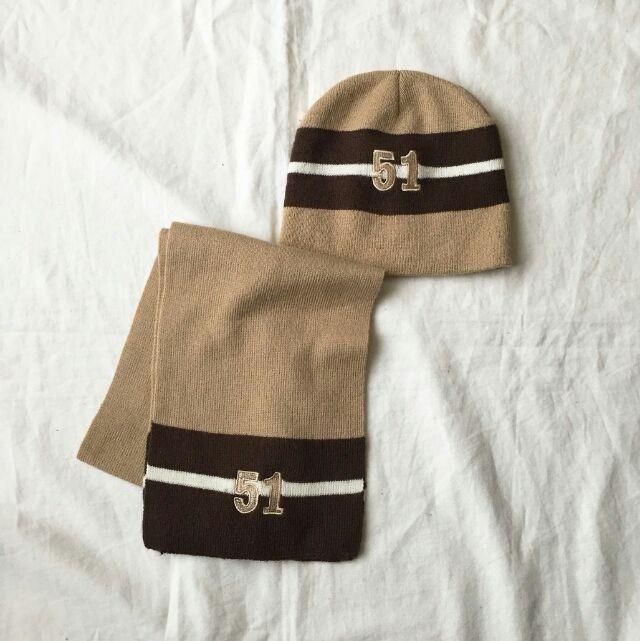 ベビー  マフラー & ニット帽