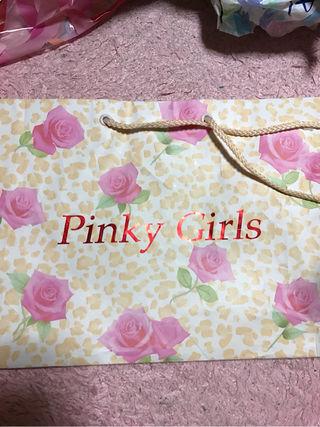 PinkyGirlsショップ袋