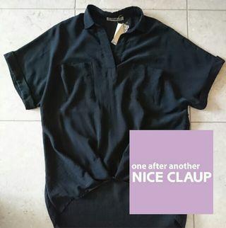 《未使用品》NICE CLAUP ナイスクラップ  シャツ