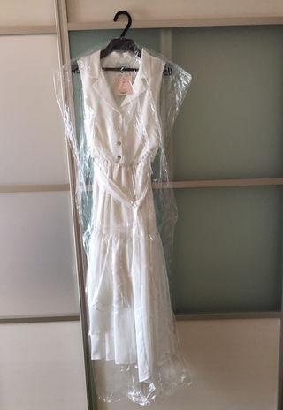 ロング リボン ドレス eimy