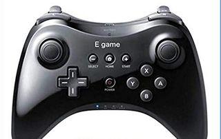 人気Wii Uプロコントローラー黒色