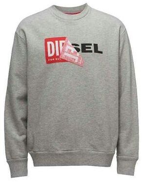 Diesel スウェット ロゴ グレー  M ディーゼル(DIESEL(ディーゼル) ) - フリマアプリ&サイトShoppies[ショッピーズ]