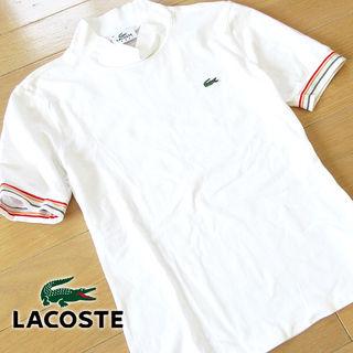 超美品 42 ラコステ スポーツ 半袖Tシャツ ホワイト