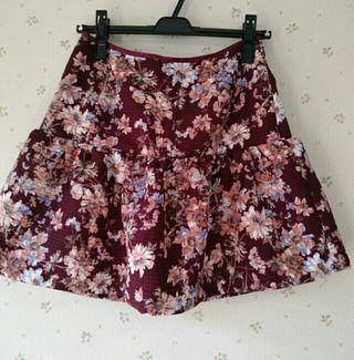 LDprime花柄スカート