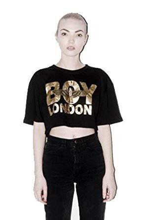 boy london ショート丈Tシャツ