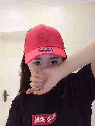 LA 男女兼用ベースボールキャップ帽子