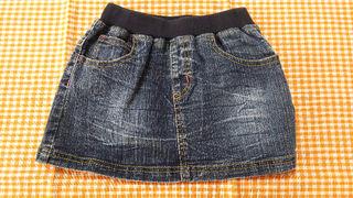 デニムスカート*サイズ95*used*