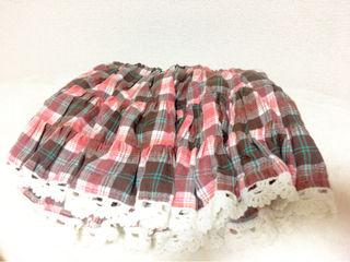 min plume スカート