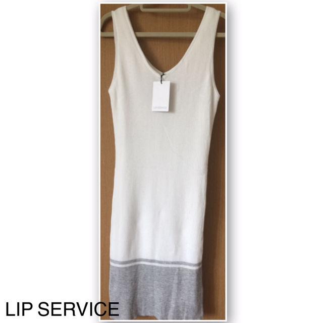 LIP SERVICE.ワンピース(LIP SERVICE(リップサービス) ) - フリマアプリ&サイトShoppies[ショッピーズ]