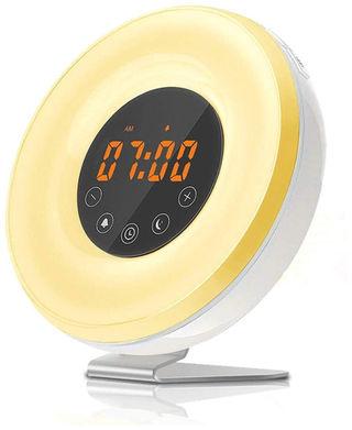 目覚まし時計 LED 快眠ライト アラーム7色変換