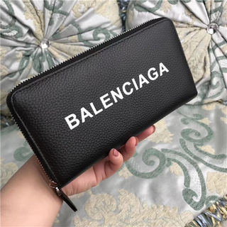 国内発送バレンシアガ大人気長財布