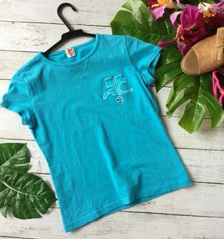 美品!クレージュロゴ刺繍デザイン×ストレッチ×Tシャツ