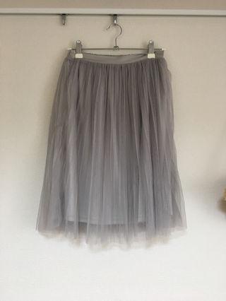 dazzlinグレーチュールスカート 美品