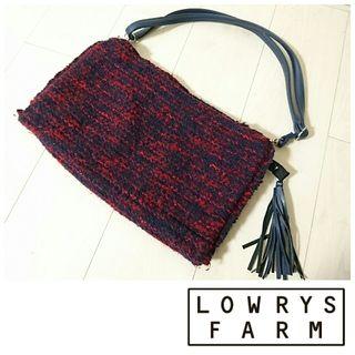 LOWRYS FARM*ツイードショルダーbag