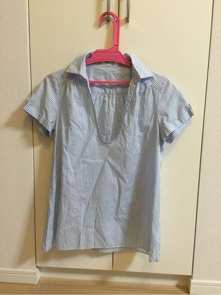 NOLLEY'S ストライプシャツ38 美品