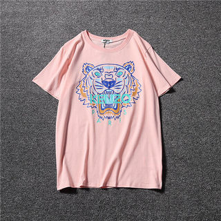 超人気 KENZO 半袖 色選択可 男女兼用 M-XL