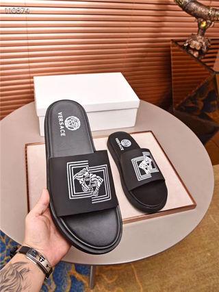 ベルサーチ紳士サンダル メンズシューズ靴 スリッパ