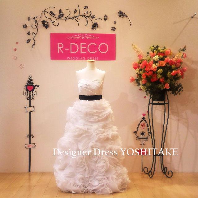 ウエディングドレス ふわふわフラワーモチーフスカート - フリマアプリ&サイトShoppies[ショッピーズ]