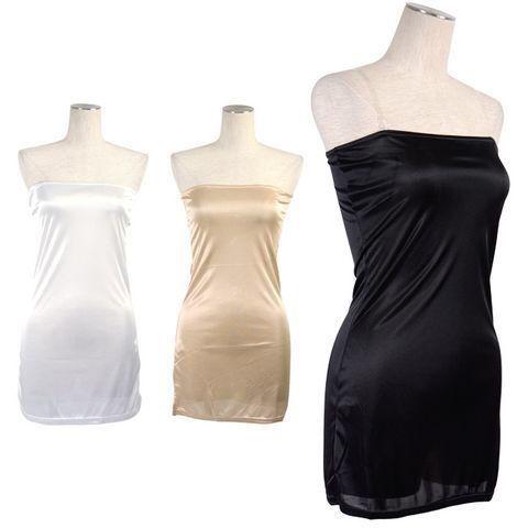新品ベアトップドレス2wayインナー ペチコート ブラック - フリマアプリ&サイトShoppies[ショッピーズ]