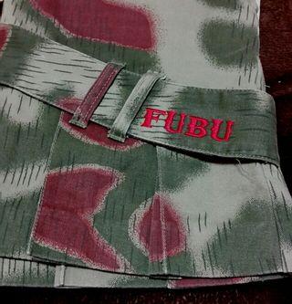 FUBU/ 迷彩柄スカート