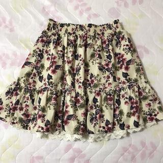 オリーブデオリーブ*花柄スカート