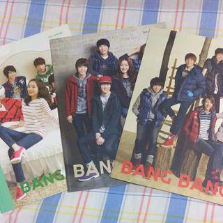 CNBLUE 広告モデル カタログ BANGBANG