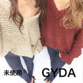 【GYDA】ブークレ ドルマンニット