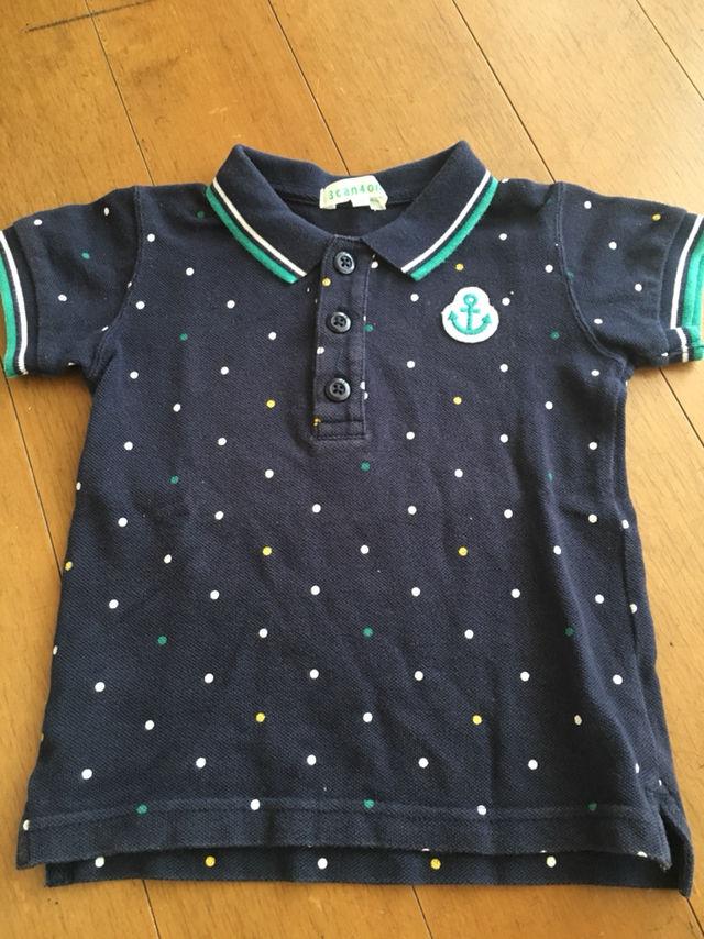 90cm/ポロシャツ