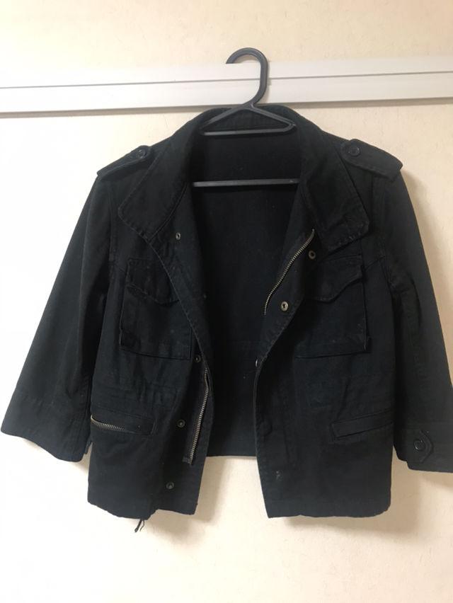 サマージャケット 黒