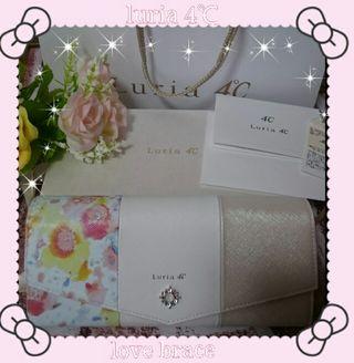 【Luria 4】お花柄長財布(美人百花掲載商品)完売品